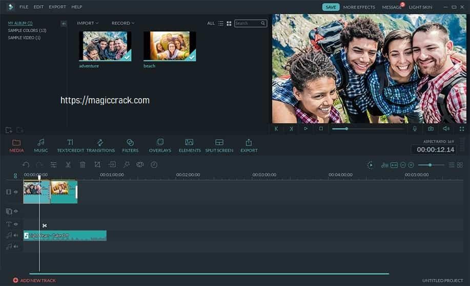 Wondershare Filmora 10.1.4.7 Crack + Serial Key Full Free Download