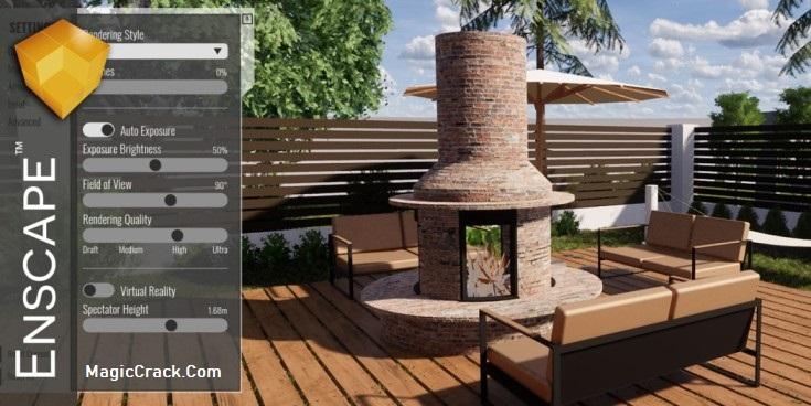 Enscape 3D Crack + Sketchup Keygen Free Download (2021)