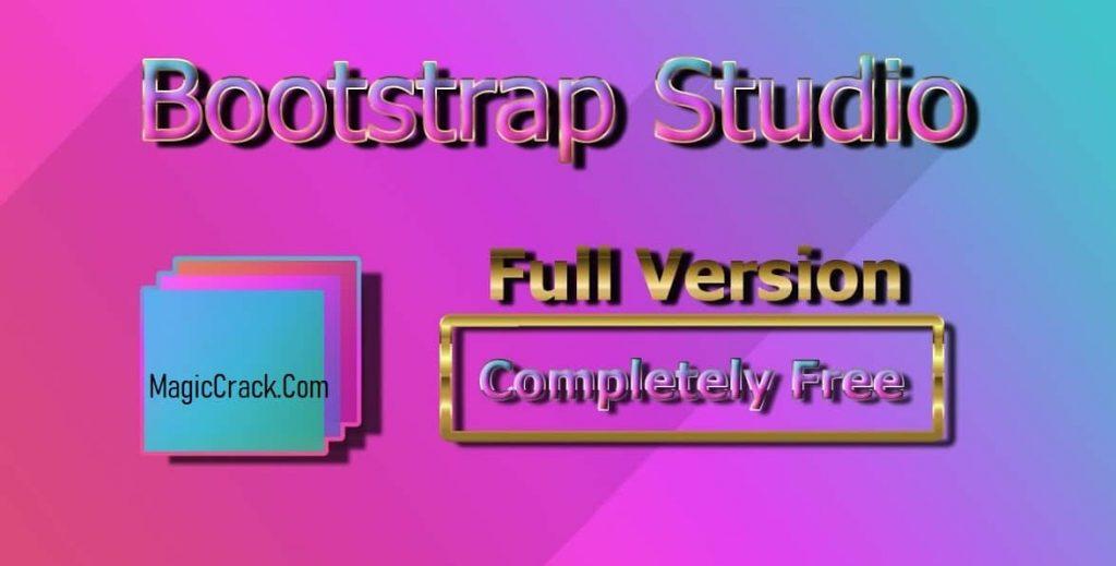 Bootstrap Studio Crack Free Download (2021)