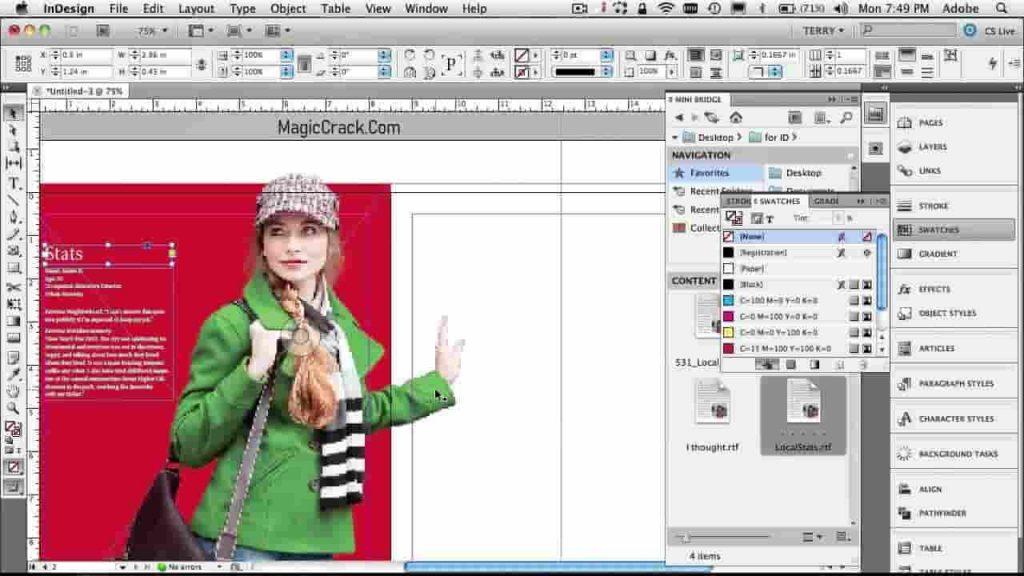 adobe indesign crack + torrent (Mac) free