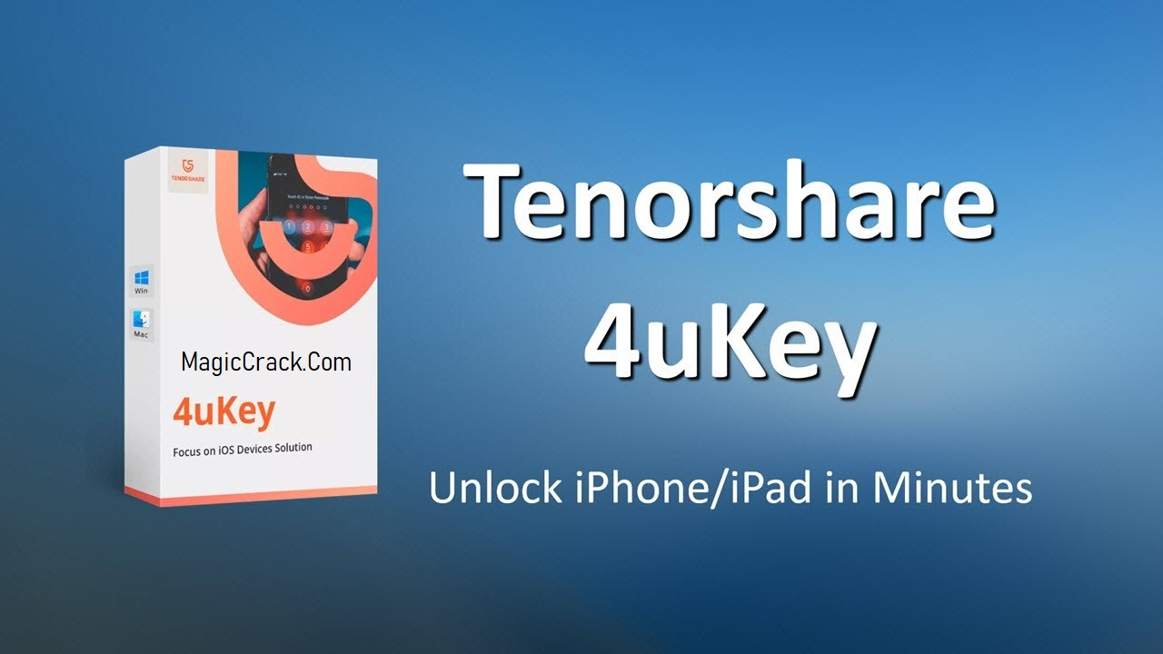 Tenorshare 4uKey Crack + Torrent Free Download